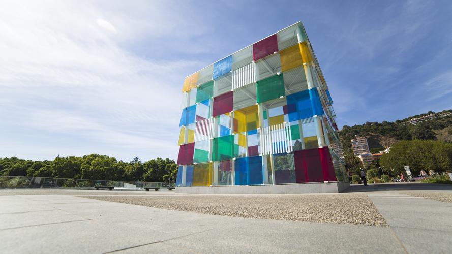 Visita guiada por los museos de Málaga: Pompidou
