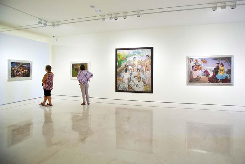 Visita guiada por los museos de Málaga: Carmen Thyssen