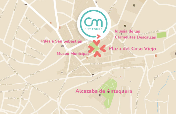 Visita guiada a Antequera: meeting point